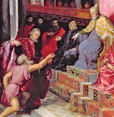 1534 - Under the Doge's feet. Star Ushak. Turkish. Note the runner next to it.