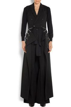 Givenchy | Convertible crepe gilet  | NET-A-PORTER.COM