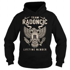 Awesome Tee Team RADONCIC Lifetime Member - Last Name, Surname T-Shirt T-Shirts