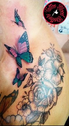 #mariposas#flores
