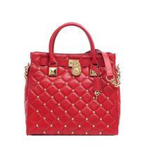 MICHAEL KORS Studded Leather Bag