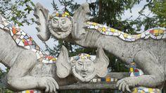 Bruno Weber Skulpturen Park. Spreitenbach, oberhalb der Stadthalle Dietikon.
