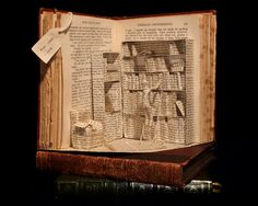 LOve this stuff made with old books.