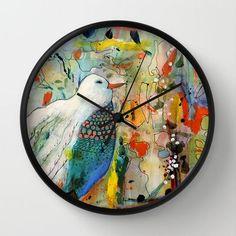 Beautiful Wall Clock by Sylvie Demers - $30.00