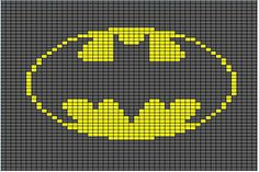 Ravelry: Batman Afghan Block pattern by Butterfly's Creations