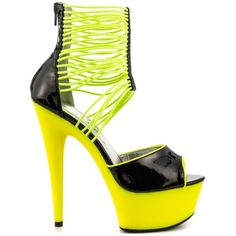 Adore - Yellow by Ellie Shoes