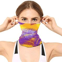 Tropical design Face Mask Buff by Scar Design. #mask #buff #clothmask #fabricmask #masks #coronavirus   #covid19 #gifts Cool Tee Shirts, Cool Tees, Tropical Design, Sunset Beach, All Things Cute, Stay Safe, Family Gifts, Pop Culture, Masks