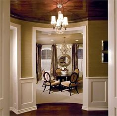 transitional style dining room - Google Search