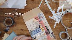 envelope , vintage, journal, dekoration Handmade Greetings, Quilling Art, Handmade Shop, Paper Art, Envelope, Workshop, Journal, Etsy, Instagram