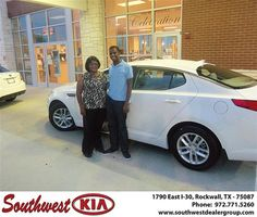 Congratulations to Yolanda Perry on the 2013 #KIA #Optima