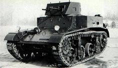 """The M1 Combat Car was a light tank used by the U.S. Cavalry in the late 1930s. After the Spanish Civil War, most armies, including the U.S. Army, realized that they needed """"gun"""" armed tanks and not vehicles armed merely with machine guns, and so the M1 became obsolete. The M1 was the immediate predecessor of the M2 Light Tank."""