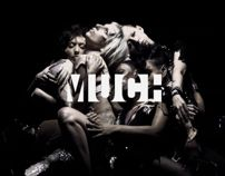 MuchMusic / Rebrand 2010-2011 by Nicolas Girard, via Behance