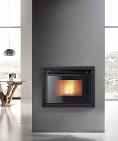 Fireplaces and fireplace mantels are fast becoming a core feature in homes across the world as they add a real feature point to any formal or indeed casual living area. Fireplace Doors, Farmhouse Fireplace, Stove Fireplace, Fireplace Mantels, Living Area, Living Spaces, Living Room, Stove Accessories, Pellet Stove