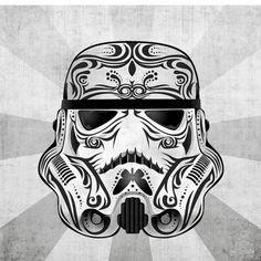 Star Wars Sugar Skull