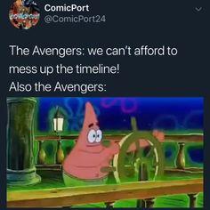 Funny Marvel Memes, Dc Memes, Marvel Jokes, Avengers Memes, Marvel Dc Comics, Marvel Avengers, Funny Memes, Funny Videos, Funny Shit