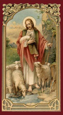 """""""I am the Good Shepherd, and know My sheep and am known of Mine."""" ~ John 10:14"""