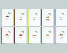 Julia Child Cookbook Promotion | Student Eun Jung Bahng; jenniferbahng.com/ | Instructor Chesley Nassaney | School Art Center College of Design, Pasadena, CA; www.artcenter.edu/