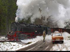 RailPictures.Net Photo: 99 7238-1 Deutsche Reichsbahn Steam 2-10-2T at Between Drei Annen Hohne and Brocken, Germany by Daniel SIMON