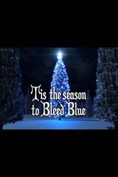 I bleed blue