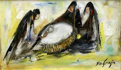 DeGrazia was a talented musician and was continuously surrounded by music. He shared dual passions for art and music as illustrated in these oil paintings. Happy Throwback Thursday! #NationalHistoricDistrict #DeGrazia #Artist #Ettore #Ted #GalleryInTheSun #Tucson #AZ #Catalinas #Desert #PaletteKnife #Musician #Oil #Painting #Drum #Drummers #Circle #Women #teddegrazia #galleryinthesun #degrazia #Throwback #Thursday #TBT