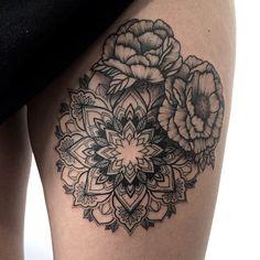 Flor y mandala