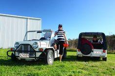 Mini Moke Tours. Napier NZ www.hooters-hire.co.nz