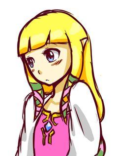 Zelda doodle by LuverChan-97.