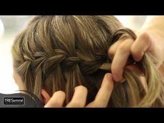 Aprenda, com o hairstylist Tiago Parente, o passo a passo para fazer a charmosa e delicada trança cascata.