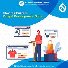 Different Businesses have different business requirements, and we understand this fact. We offer fully-flexible Custom Drupal Development suite to fit your business requirements and help you build the ultimate business solution! #Drupal #Drupal7 #Drupal8 #Drupal9 #DrupalDevelopment #DrupalDevelopers #BusinessWebsite #DrupalWebDevelopment #DrupalDevelopmentCompany #DrupalCommerce #DrupalWebDevelopmentCompany #DrupalServices #DrupalDevelopmentServices #USA #Australia