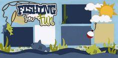 Fishing For Fun Page Kit