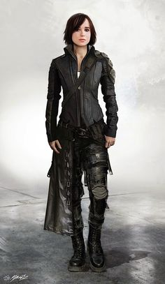 Ellen Page - Concept art alternate costumes of Kitty Pryde in X-Men: Days of…