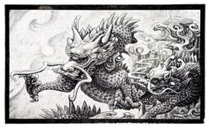 """""""Dragons in the Wind"""" 