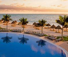 Ocean Coral & Turquesa, All Inclusive Resort, Puerto Morelos (near Cancun) All Inclusive Vacations, Caribbean Vacations, Vacation Destinations, Hotels And Resorts, Dream Vacations, Vacation Trips, Vacation Spots, Tropical Vacations, Puerto Morelos