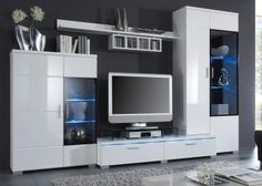 Wohnwand Island - Toller Preis. Designmöbel für Ihr Wohnzimmer.