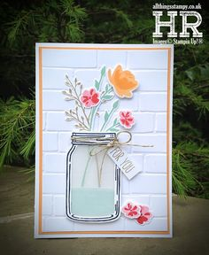 Stampin' Up! Jar of Love