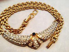 Vintage Nina Ricci Necklace Signed Fabulous by MyGreatVintageFinds, $125.00