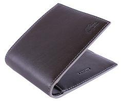 c3889bd7d27a2 Lacoste Wallet - Black Bifold Wallet  Lacoste  Mens  Wallet