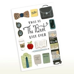 This is the Best Life Ever  Brothers Edition 5x7 by SeasonedWSalt