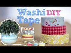 Vídeo DIY :: Fita adesiva decorada | Washi Tape | Tu organizas por Nina Braz