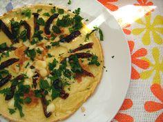 Omlet z suszonymi pomidorami