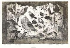 Fine Art Etchings by Marina Terauds