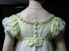 """Anne Elliot's gown from """"Persuasion"""" by cripplemusic, via Flickr"""