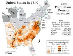 1808-1865) Domestic Slave Trade in the United States | (1820-1860 ...