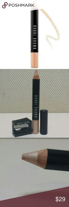 Bobbi Brown Retouching Face Pencil in Illuminate This is new and never tested. No box, but comes with sharpener.  No trades.  Please submit any offers via the offer option. Sephora Makeup Concealer