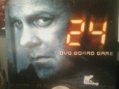24 DVD Board Game New Sealed Based on TV Series #Pressman