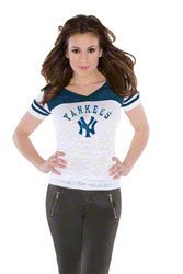 New York Yankees Women's The Coop Football Top - by Alyssa Milano $29.99 http://www.fansedge.com/New-York-Yankees-Womens-The-Coop-Football-Top---by-Alyssa-Milano-_-2132506500_PD.html?searchType=3=coop%20yankees=pinterest_pfid67-20444