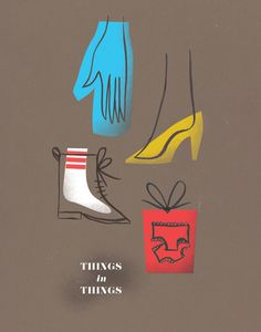 things in things / yours, roxanne.