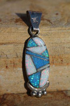Zuni opal pendant