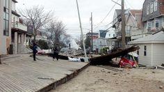 Damage in Rockaway Beach, NY, 11/1
