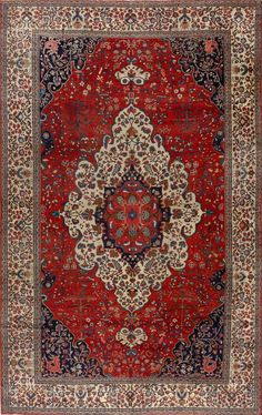 Persian Sarouk Farahan rug, Matt Camron gallery